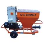 Machine à projeter et pompes à crépir C 8 COM-F