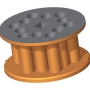 Tambour - 3,9 l - des trous circulaires